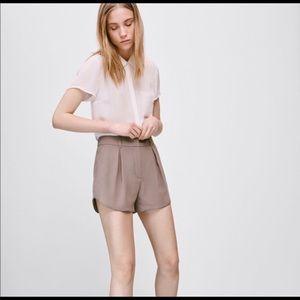 🖤 Aritzia Antoine black dressy shorts